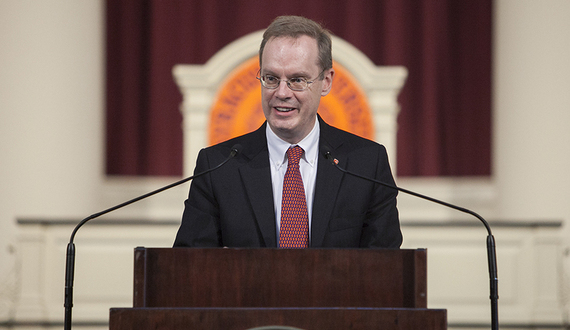 Chancellor Kent Syverud addresses events in Charlottesville in campus-wide email
